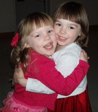 Nov 3 2012 Ivy Nina hug
